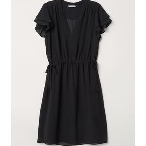 H&M V Neck Dress - Size 2 S Small